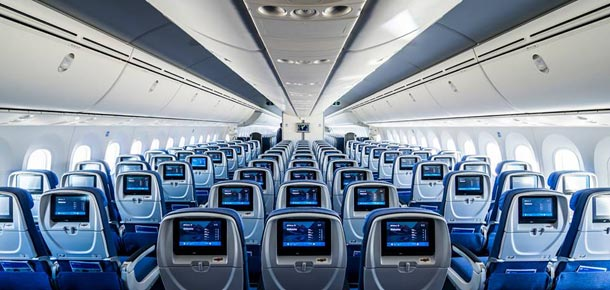 Dreamliner interior de Air Europa