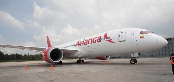 Flota Avianca Colombia