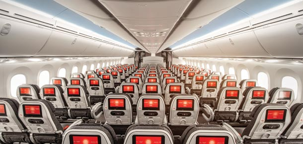 Interior Flota Avianca